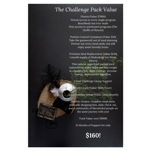 The Challenge Pack Value